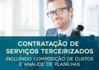 Curso Contratação de Serviços Terceirizados – Incluindo Composição de Custos e Análise de Planilhas